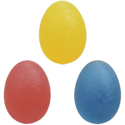 توپ ژله ای تخم مرغی | برای تقویت مچ | فیزیوتراپی | توپ CP | کاردرمانی