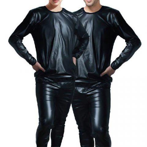 لباس-سونایی-حالت-چرم-در-فروشگاه-ورزشی-ارزان-مرکز-فروش-انواع-پوشاک-سونایی-گن-و-لباس-لاغری
