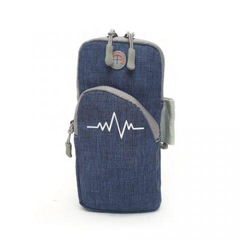 خرید-بازوبند موبایل کتان-نگهدارنده-گوشی-موبایل-هنگام-ورزش-و-دویدن-دارای-سوکت-هندزفری