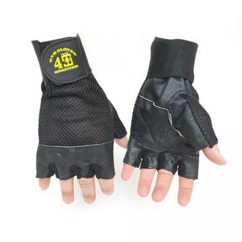 خرید و قیمت دستکش بدنسازی ارزان | انواع دستکش بدنسازی نیمه چرمی در منیریه تهران