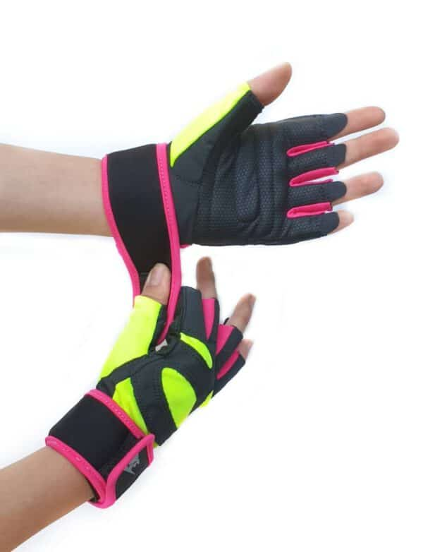 خرید دستکش نیمه استرچ زنانه DK-16 از ورزشی ارزان